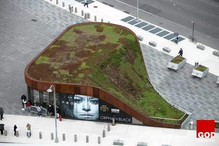 Back to Eden: The Barclays Center Green Rooftop Creation – New York City