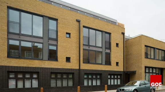 Pocket Living development Willingham Terrace, Camden