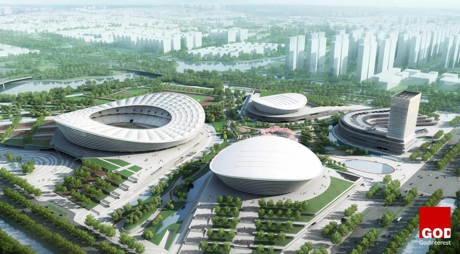 Construction Begins on Sip Sports Center in Suzhou