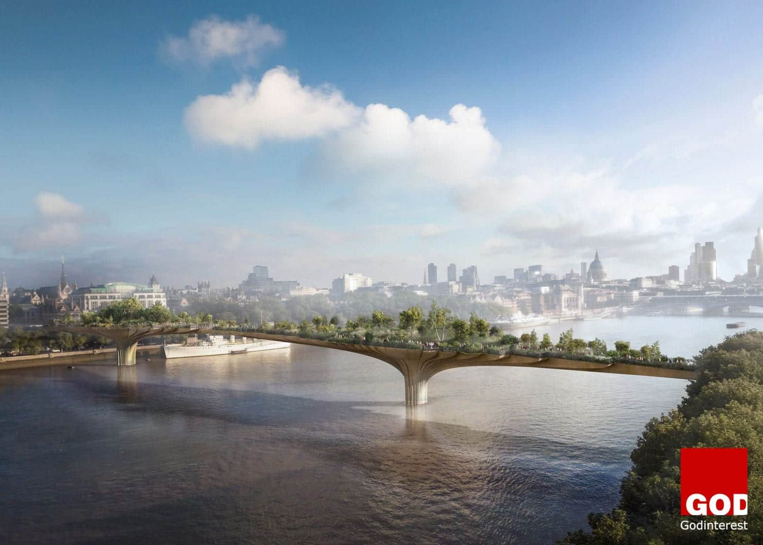 The Garden Bridge Project, London