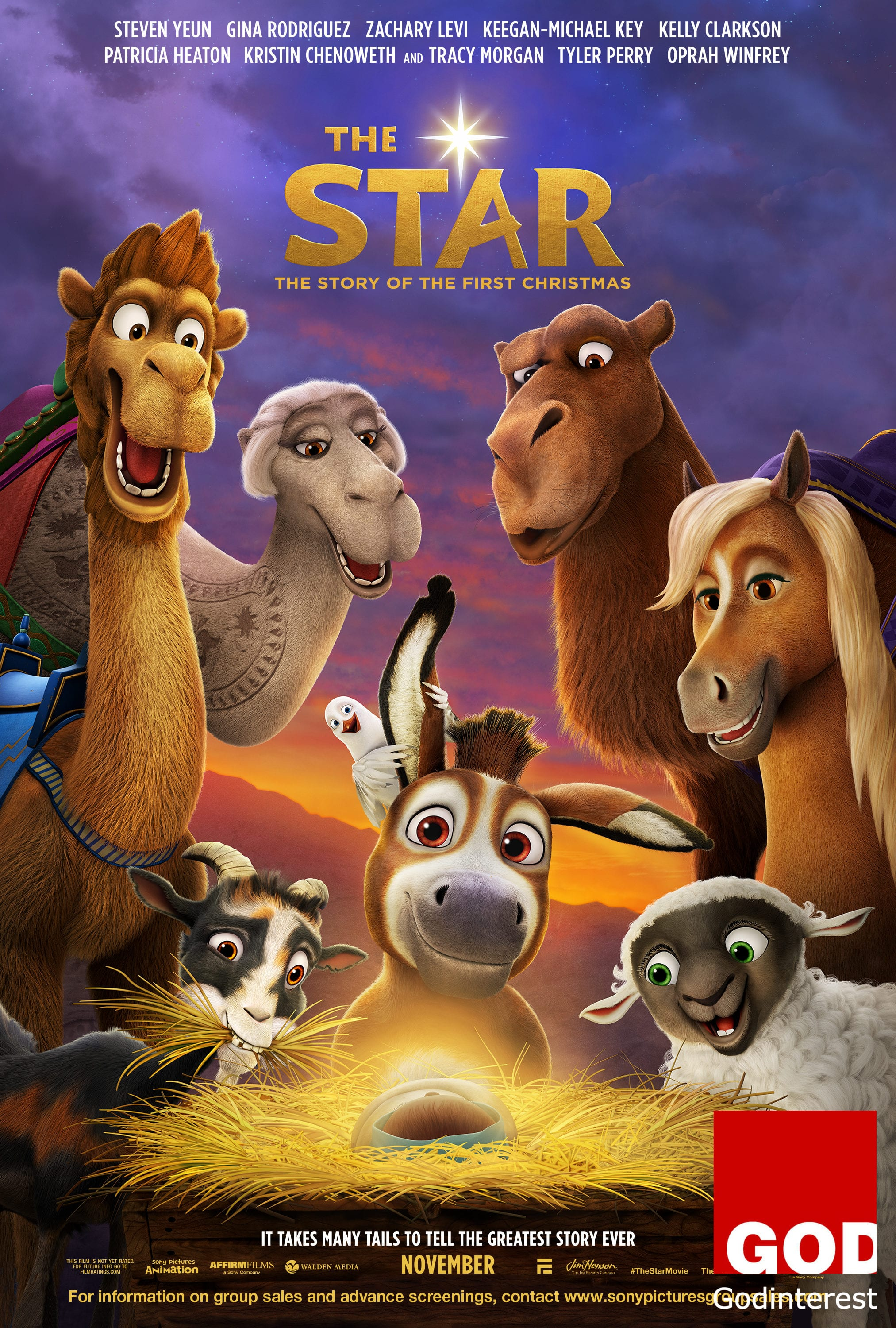 New in Faith & Family from Sony Pictures Animation: THE STAR, Godinterest Christian Magazine