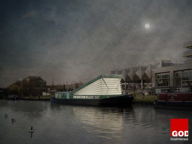 A Floating Church Will Soon Set Sail on London's Canals