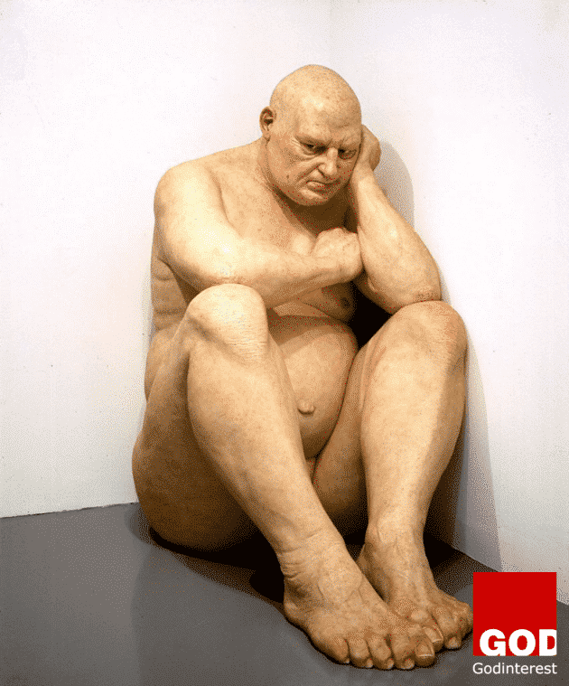 "Ron Mueck, ""Untitled (Big Man)"