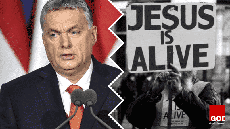 "Hungary's nationalist Prime Minister  says ""Christianity is Europe's last hope"""