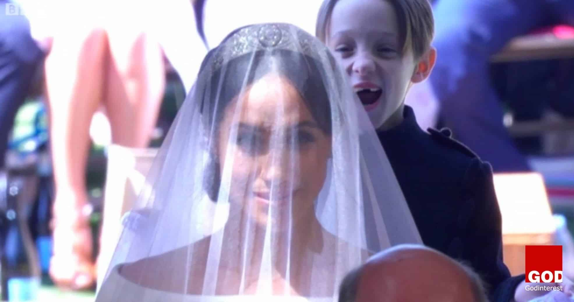 Smiling Page Boy at Royal Wedding That Captured the Heart of Christ