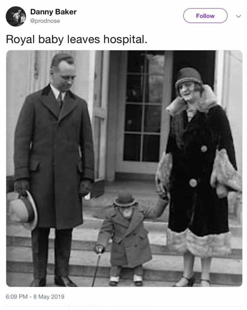 Danny Baker's royal baby chimp tweet was racist and it's right he was sacked – what you sow is what you reap, Godinterest Christian Magazine