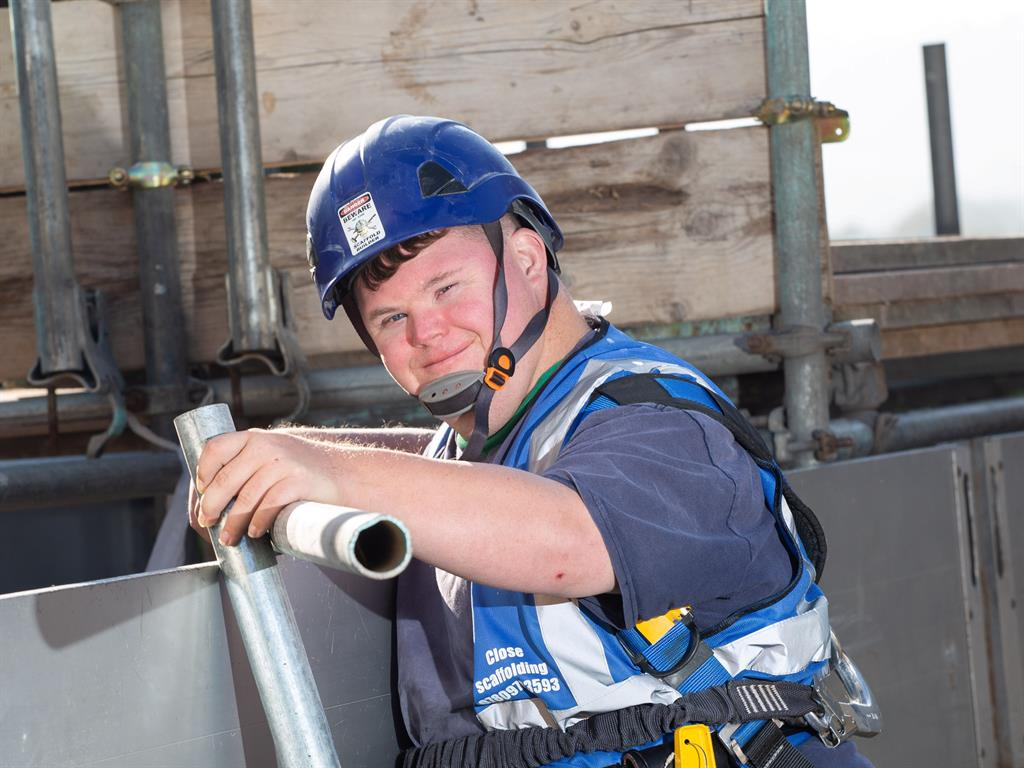 Swindon scaffolder with Down's syndrome named UK's best apprentice with Down's Syndrome, Godinterest Christian Magazine